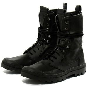 Palladium Baggy Military Boot Neil Barrett Collab